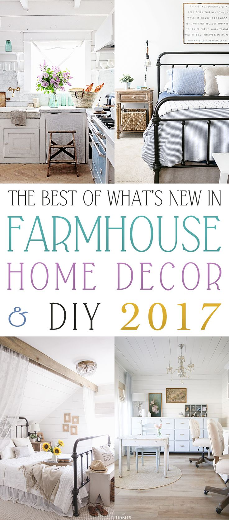 The Best of What's New in Farmhouse Home Decor & DIY 2017!