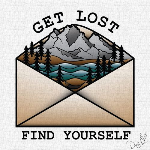 art nature graphic design hiking Grand Teton Camping tattoo flash traditional tattoo camp vibes