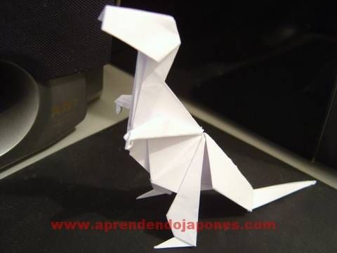 How to Make a folded-paper Tyrannosaurus rex with origami « Origami