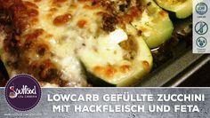 LowCarb Gefüllte Zucchini mit Hackfleisch und Feta – Soulfood LowCarberia Blog