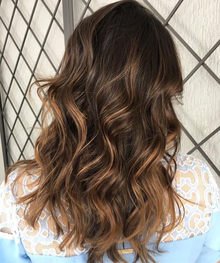 cool 65 Ideas for Dark Brown Hair With Highlights  - For the Chic Modern Brunette