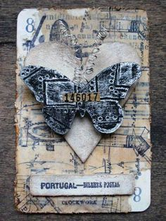 Altered playing cards for daily inspiration...by Mary ...   Art-ATC L…