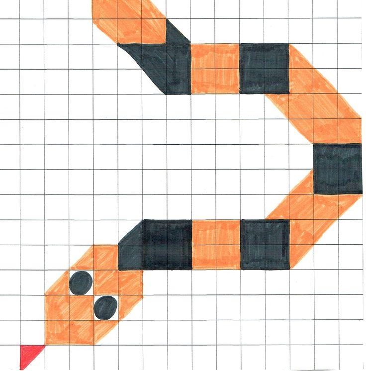 Mozaïek plankje slang