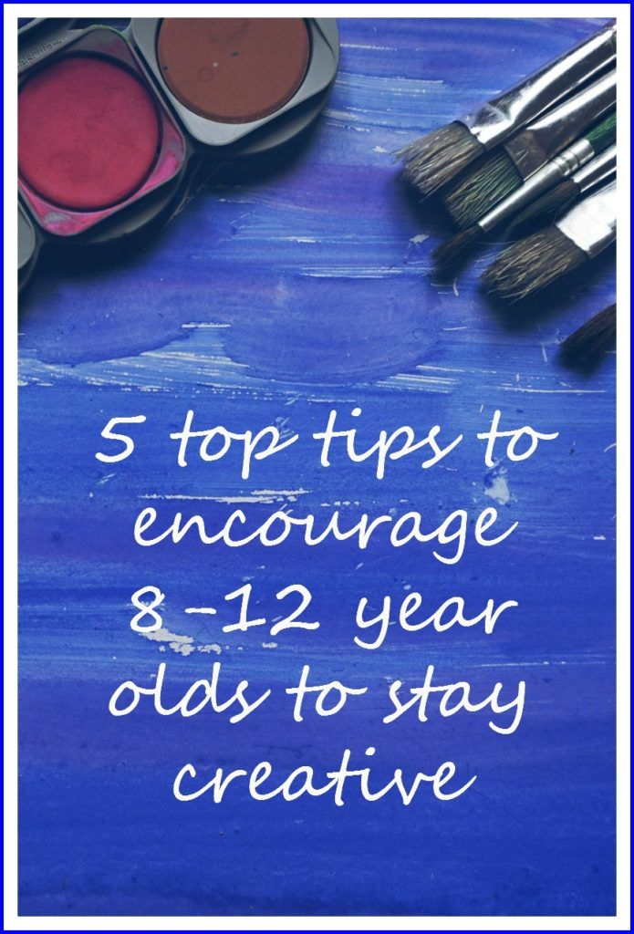 5 top tips to encourage older children to stay creative - 8-12 year olds often become unconfident artists here are some ways to encourage creativity amongst older kids and inspire children to keep their artistic skills developing Emotionally Healthy Kids