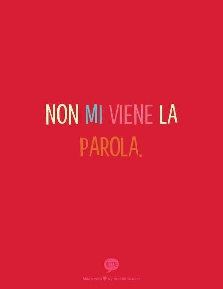 Non mi viene la parola. - The word isn't coming to me/I can't remember the word