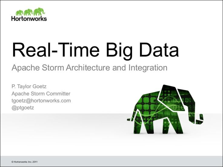 The slides from my session on Apache Storm architecture at Hadoop Summit Europe 2014.