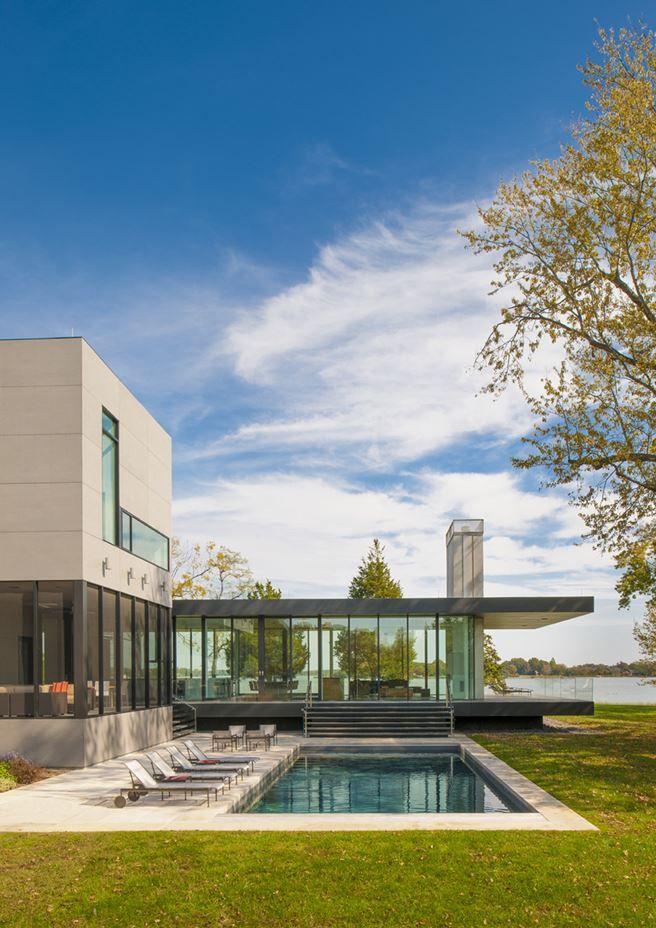 Tred Avon River House - Picture gallery #architecture #interiordesign #swimmingpool #outdoor