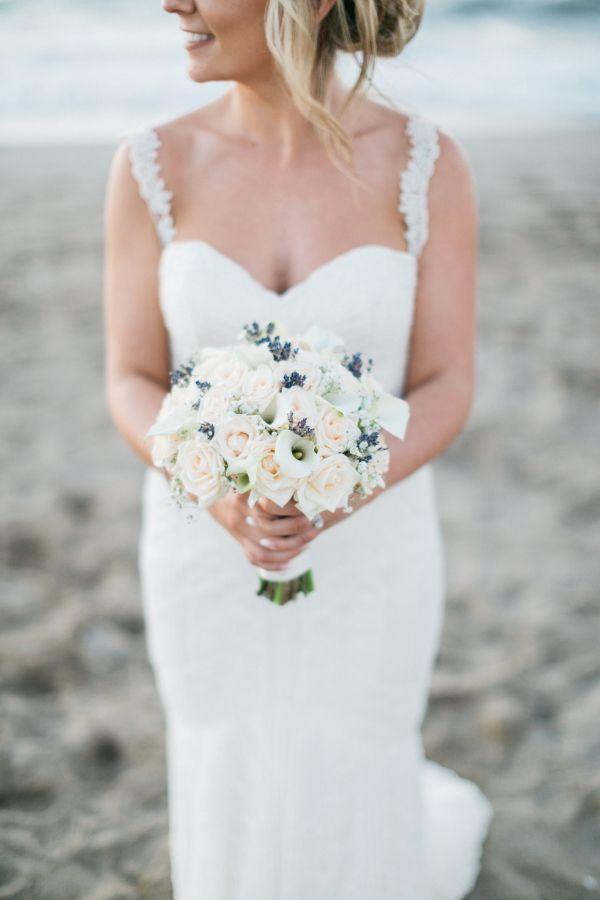 Bouquet NICOLE with lavender, callas & roses