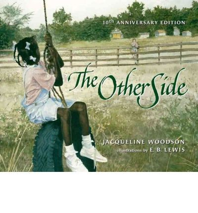 Good book for teaching Questioning strategy, K-3 Two girls, one white and one black, gradually get to know each other as they sit on the fence that divides their town.
