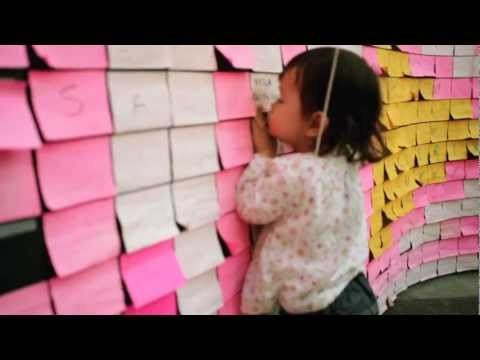 25 Animators + 5 months video editing + 3.5M Post-It Notes = Time-lapse video
