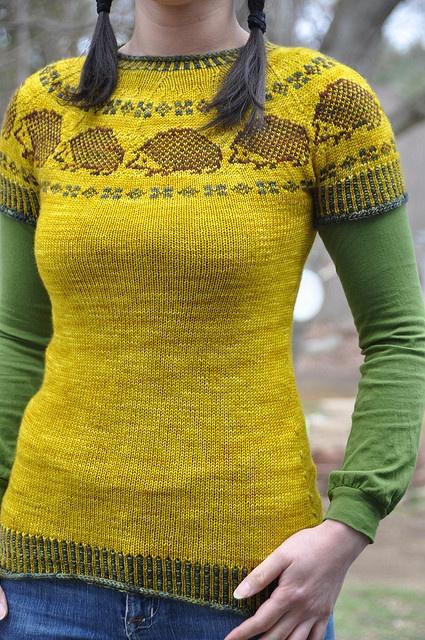 Еж справедливой остров свитер ... да, этот свитер ежей на нем ... да, я бы, вероятно, носить его.
