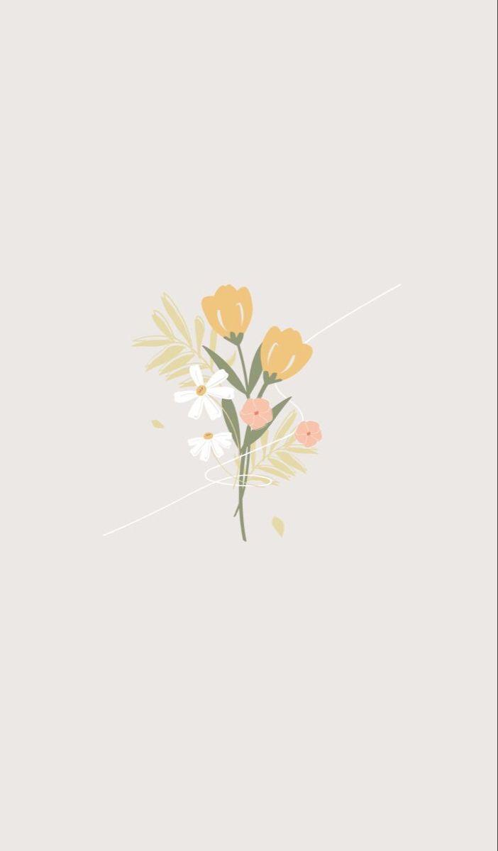 Pin by Dania Avila on flower mini   Cute simple wallpapers ...