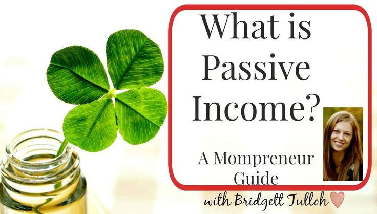 What is Passive Income? A Mompreneur's Guide - WATCH VIDEO here -> http://makeextramoneyonline.org/what-is-passive-income-a-mompreneurs-guide/ -      What is Passive Income? A Mompreneur's Guide Follow me on Facebook: Keywords: mompreneur, passive income for moms, passive income for women, passive income explained, what is passive income, examples of passive income, mompreneur blog, solopreneur, laptop lifestyle, female solopreneur
