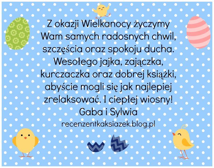 Życzenia Wielkanocne od Recenzentek :)