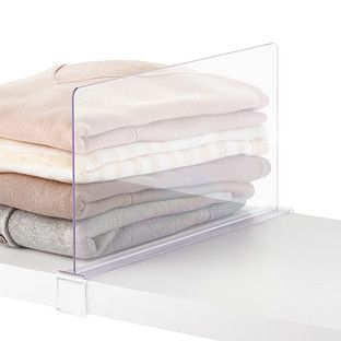 elfa décor Shelf Dividers - for organizing sweaters