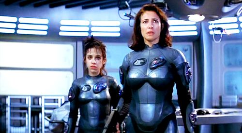 Penny Robinson    Maureen Robinson    Lost in Space    Science Fiction    Lacey Chabert    Mimi Rogers
