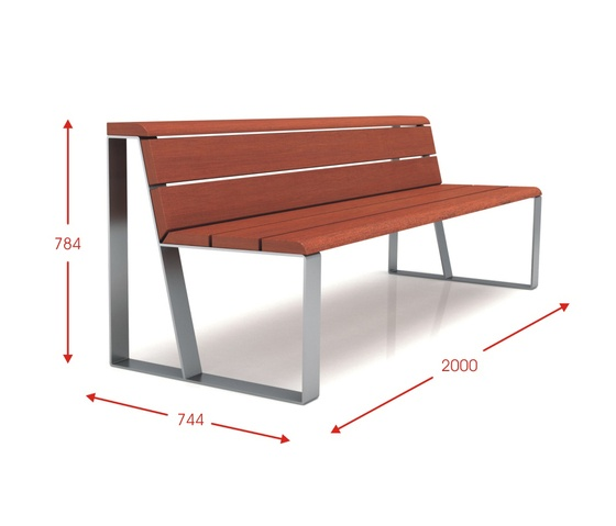 LINEAL   Designer Exterior Benches From Cabanes ✓ All Information ✓  High Resolution Images ✓ CADs ✓ Catalogues ✓ Contact Information ✓ Find.