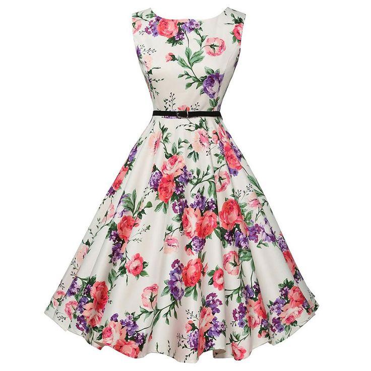 Polyester One-piece Dress