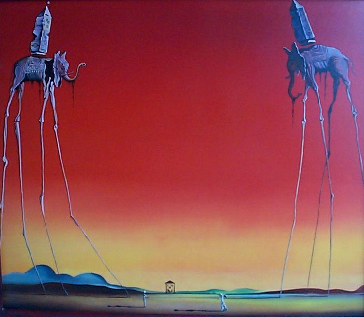 Salvador Dali - Salvador Dali Les Elephants one of the best!