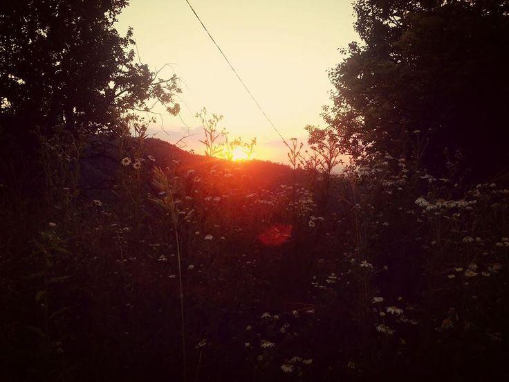 sunset in Copalnic