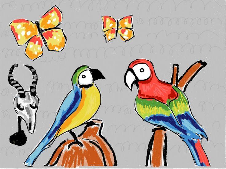 Ilustración animales. www.ignasimiralbellriera.com