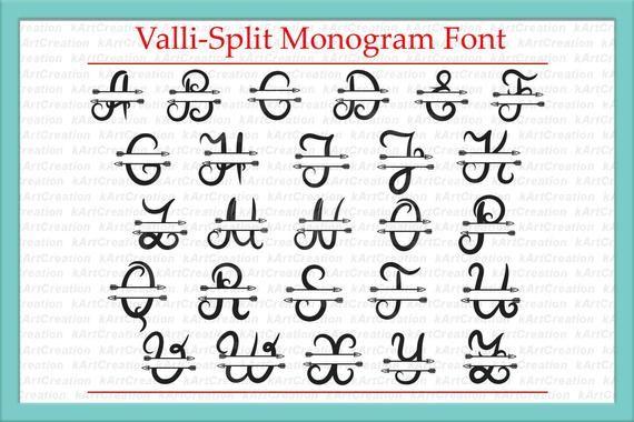 49+ Monogram script arrow font ideas in 2021