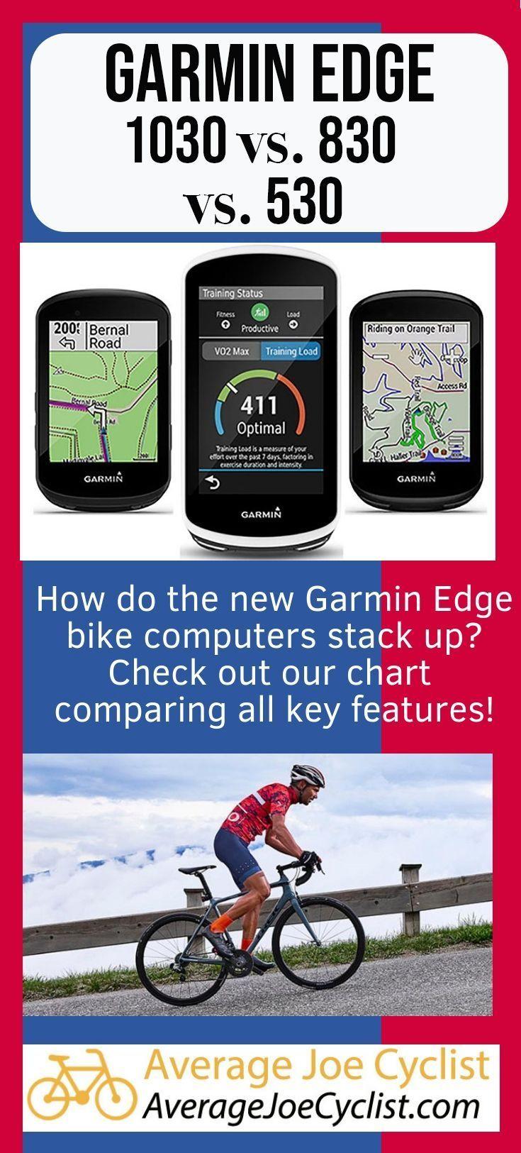 Garmin Edge 530 Vs 830 Vs 1030 Gps Bike Cycling Workout Bike