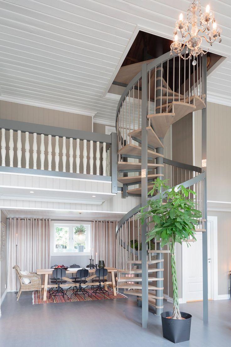 Industriell look med betonggulv - Byggmakker+