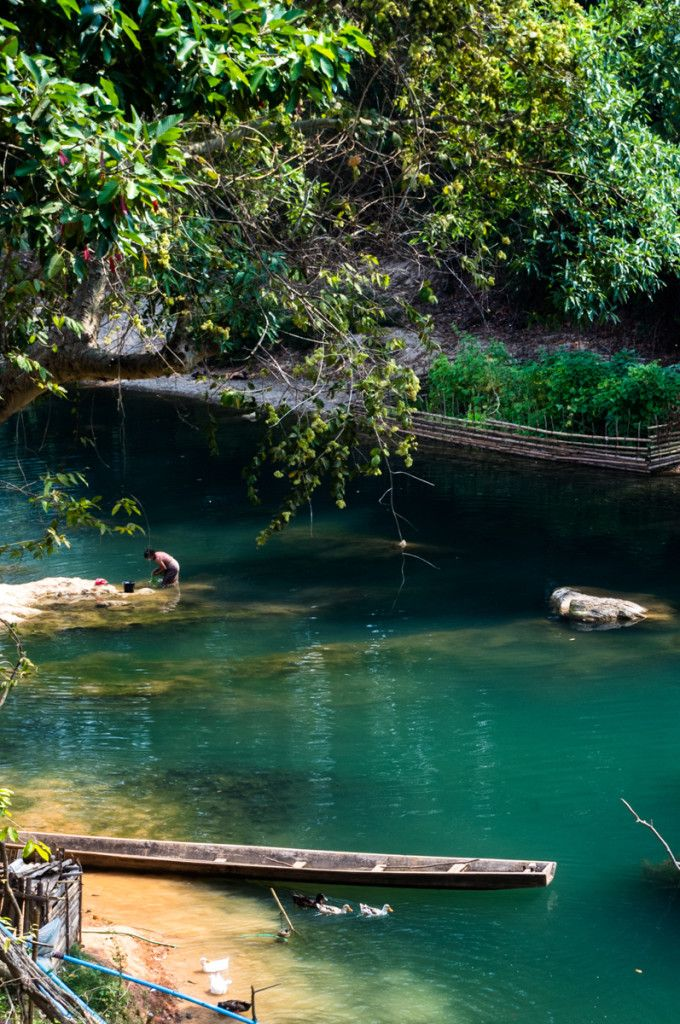 Clear waters of Laos - Kong Lo