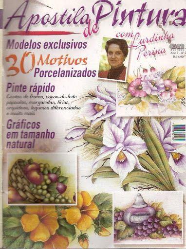 APOSTILA DE PINTURA N. 2 - LURDINHA - Acmira - Álbuns da web do Picasa