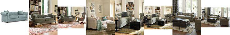 Martha Stewart Collection Saybridge Fabric Sofa: Custom Colors