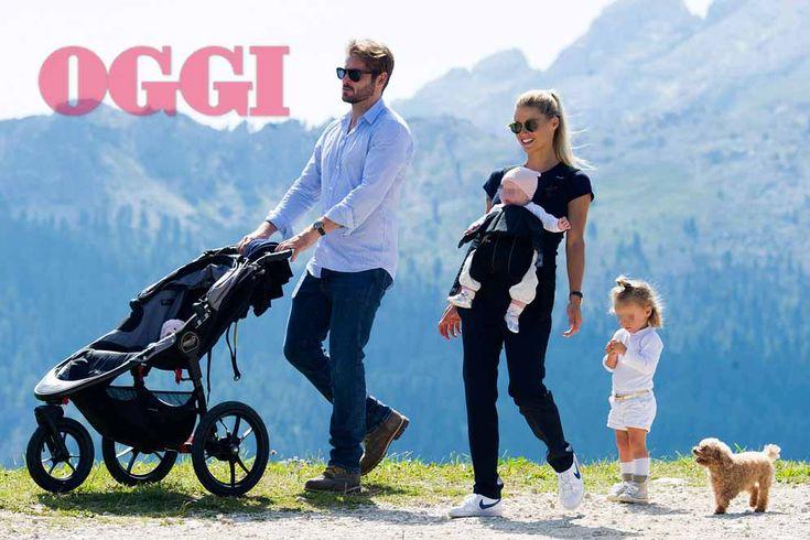 Michelle Hunziker e Tomaso Trussardi con le figlie Sole e Celeste: amore (anche) ad alta quota – FOTO ESCLUSIVE | Gossip