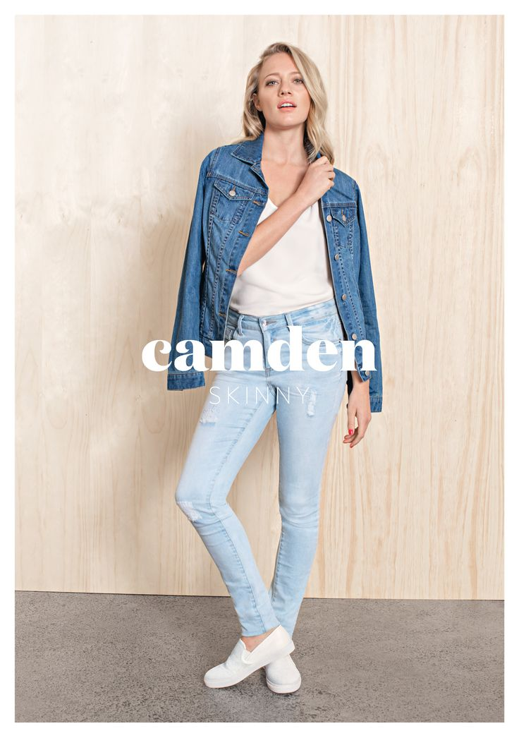 Camden Skinny Light Wash