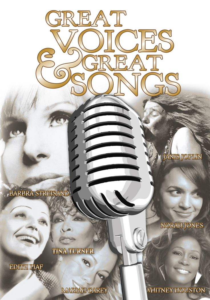 Great Voices & Great Songs - Cantantes Femeninas