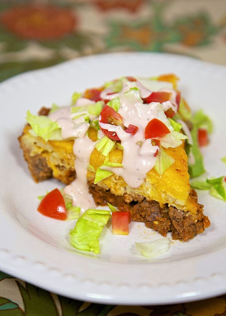 Impossible Taco Pie | Easy recipes, Homemade taco seasoning and ...