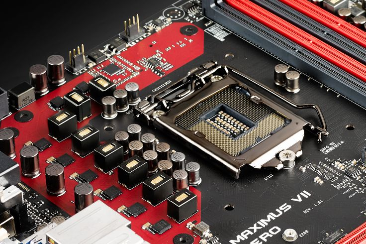 """Asus Maximus Hero VII Waiting for the """"mind"""" to be placed.. Stay tuned : www.facebook.com/PCWhisperer.gr"""