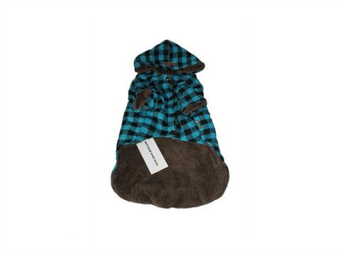 Plaid Coat - available in Blue, Pink & White