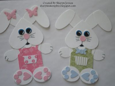 Punch Art Bunnies  Stampin' Up!