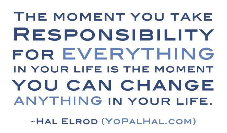17 Best Responsibility Quotes On Pinterest