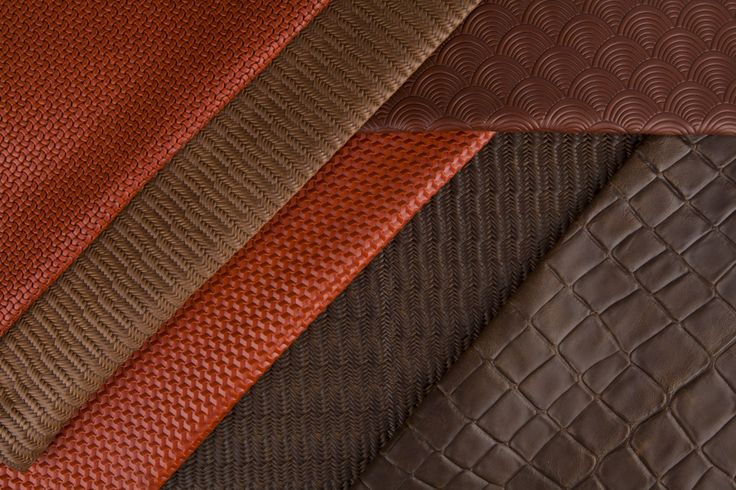 Design collection. Embossed leather. Studioart
