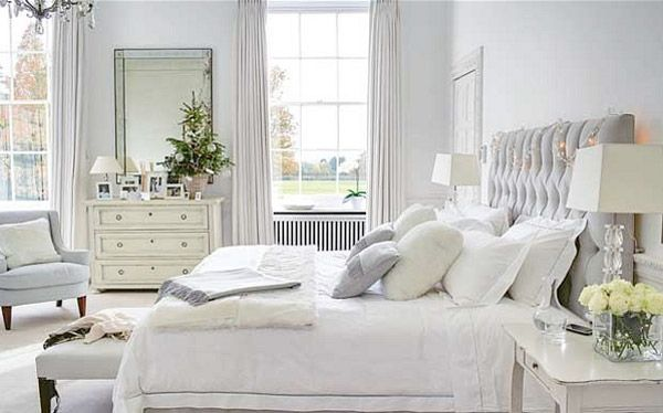 white bedrooms photos | white bedroom : campaign furniture : ralph lauren bedroom : bedroom ...