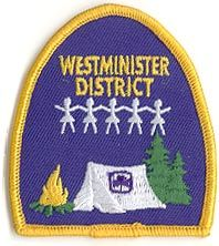 Westminister District, Alberta, Girl Guides of Canada patch/crest. #GGC #Girl_Guides #patches