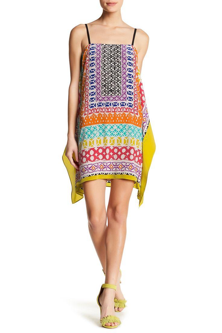 Fallan Sleeveless Draped Silk Dress