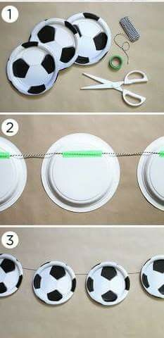 Paper plates? Simple and easy to make!