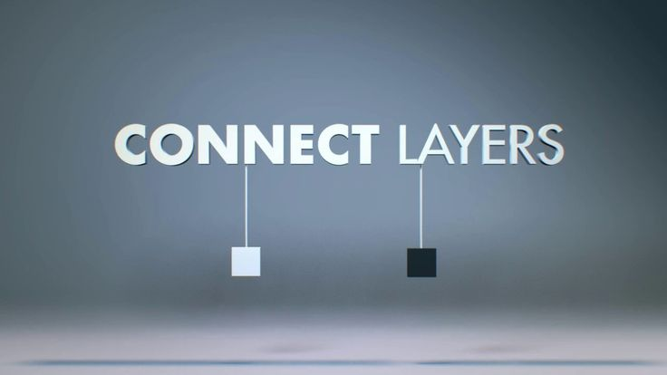 Connect Layers for After Effects. This After Effects tool connects selected layers with segments created using shape layers. It has been cre...