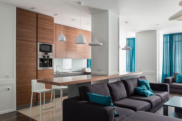 Skyline apartment by SVOYA studio on Behance