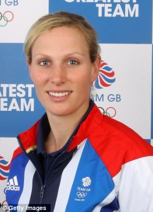 Zara Phillips of Team GB poses for a portrait