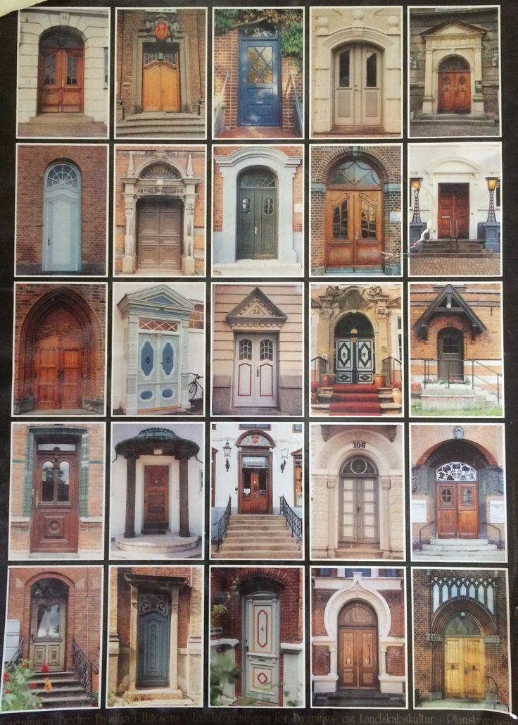 Gamle døre i Horsens