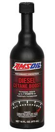 Raises the cetane number of diesel fuel up to seven points for maximum horsepower, increased fuel economy and easier starts in all diesel engines. AMSOIL Diesel Cetane Boost makes no sacrifices; it is purpose-built for diesel owners who demand maximum results.
