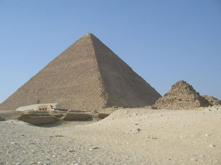 The Pyramids at Giza, Egypt. Photo: David Yustin